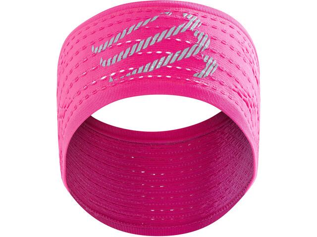 Compressport On/Off Bandeau, fluo pink